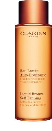 Liquid Bronze Self Tanning For Face And Decollete 125ml