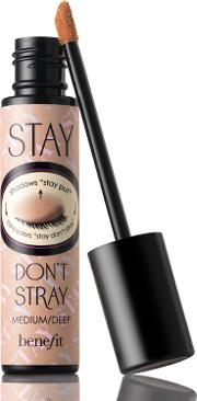 Benefit Stay Don't Stray Stay Put Primer For ncealers & Eyeshadows Mediumdeep 10ml