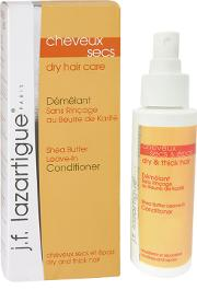 J.f. Lazartigue Dry Hair Shea Butter Leave In nditioner 100ml
