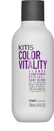 Kms lorvitality Blonde nditioner 250ml