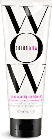 lor Wow lor Security nditioner For Normal To Thick Hair 250ml