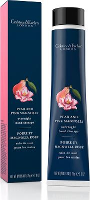 Pear & Pink Magnolia Overnight Hand Therapy 75g