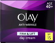 Olay Anti Wrinkle Firm & Lift Day  Spf15 50ml