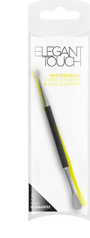Professional Cuticle Pusher & Nail Cleaner