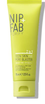 Nip  Teen Skin Fix 2 In 1 Scrub & Mask Pore Blaster 75ml