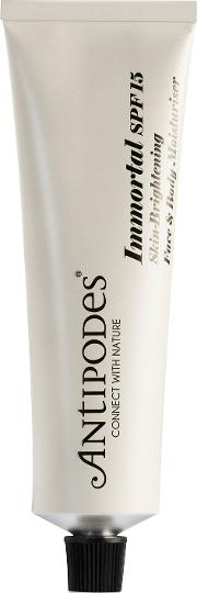 Antipodes Immortal Natural Sun Protection  & Body Moisturizer Spf15 60ml