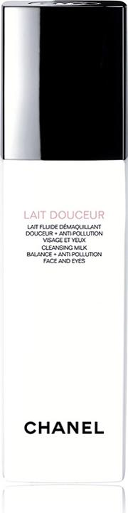 Chanel Lait Douceur Cleansing Milk Balance Anti Pollution  And Eyes 150ml