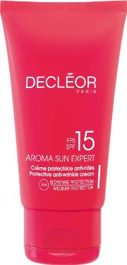 Decleor Aroma Sun Expert Protective Anti Wrinkle Cream For  Spf15 50ml