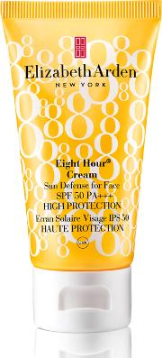 Elizabeth Arden Eight Hour Cream Sun Defense For  Spf 50 High Protection 50ml