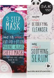 Oh K 3 Step Anti Pollution Marine Algae Sheet  Mask
