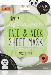 Oh K After Sun Aloe Vera  & Neck Sheet Mask