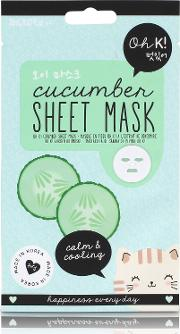 Oh K Calm & Cooling Cucumber Sheet  Mask