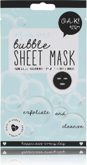 Oh K Exfoliate & Cleanse Bubble Sheet  Mask