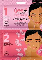 Yes To Grapefruit 2 Step  Kit