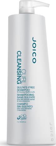 Joico Curl Cleansing Sulfate Free Shampoo For Bouncy thy Curls 1000ml