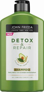 Detox And Repair Shampoo For Dry Stressed & Damaged Hair 250ml