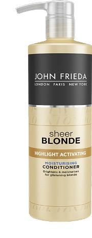 Sheer Blonde Highlight Activating Moisturising Conditioner For Lighter Blondes 500ml