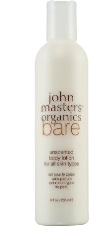 Masters Organics Bare Unscented Body Lotion 236ml