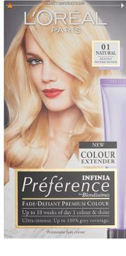 L'oreal Paris Recital Preference  Blondissimes Permanent Hair Colour