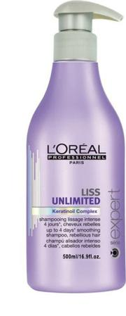 L'oreal Professionnel Serie Expert ss Unmited Smoothing Shampoo 500ml
