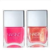 Nailsinc Flock You Nail Polish Duo