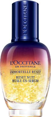Immortelle Reset Night Oil In Serum 30ml