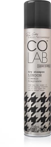 Colab Sheer Invisible Dry Shampoo  200ml