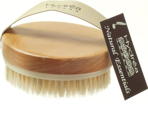 Hydréa  Lymphatic Detox Brush With Natural Bristle & Rubber Nodules