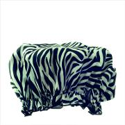 Hydrea  Eco Friendly Shower Cap Zebra