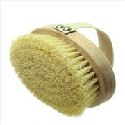 Hydrea  Professional Dry Skin Body Brush With Cactus Bristles Hard Strength