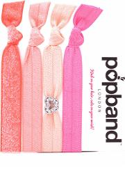 Popband  'butterfly' Hair Ties Multi Pack