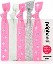 Popband  'candy' Hair Ties Multi Pack