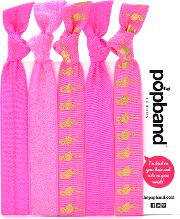 Popband  'flamingo' Hair Ties Multi Pack