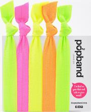 Popband  'glo' Hair Ties Multi Pack
