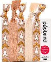 Popband  'golden Sun' Hair Ties Multi Pack