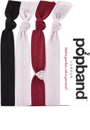 Popband  'heartbreaker' Hair Ties Multi Pack