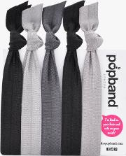 Popband  'ink' Hair Ties Multi Pack