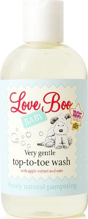 Boo Baby Top To Toe Wash 250ml