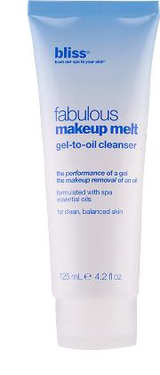 Bliss Fabulous Makeup t Gel To Oil Cleanser 125ml