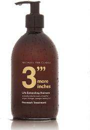 3''' More Inches By  Pre Wash Treatment 500ml