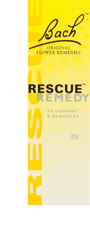 Bach Rescue edy Drops 20ml