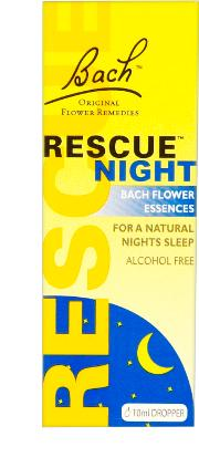 Bach Rescue edy Night 10ml Dropper