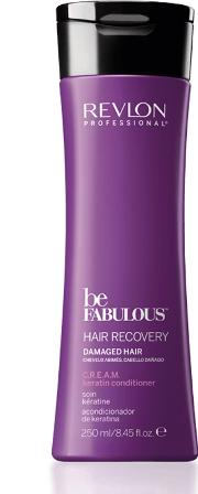 Professional Be Fabulous Hair Recovery Damaged Hair C.r.e.a.m. Keratin Conditioner 250ml