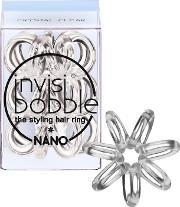 Invisibobble The Styling Hair  3 Pack Nano Crystal Clear