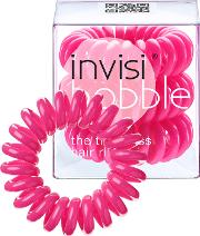 Invisibobble The Traceless Hair  3 Pack Original Candy Pink