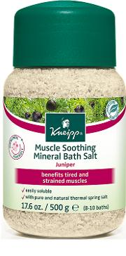 Kneipp Juniper Muscle Soothing Mineral Bath  500g