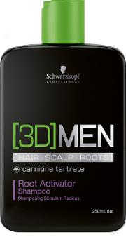 Professional 3d Mension Root Activator Shampoo 250ml
