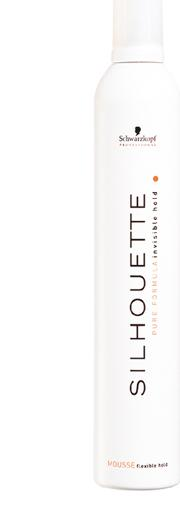 Professional Silhouette Flexible Hold Mousse 500ml