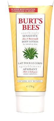 Burt S Bees Soothingly Sitive Aloe & Buttermilk Body Lotion 170g