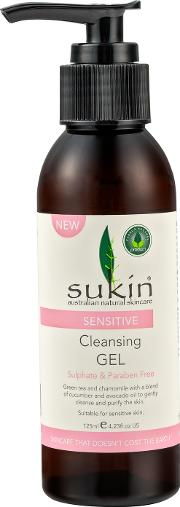 Sukin sitive Cleansing Gel 125ml